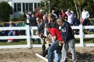 Outlaw Olympics, horse race