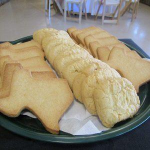 Cookie Festoon, plate of cookies