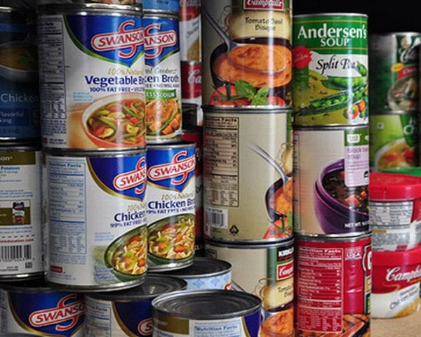 End Hunger Games, canned goods