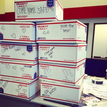 military care package, care packages at post office