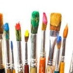 Painting Puzzle Masterpiece, paint brushes