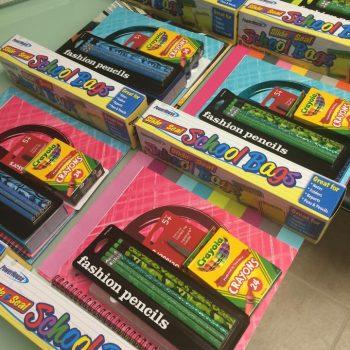 Stuff-It! Backpacks for Charity, school supplies
