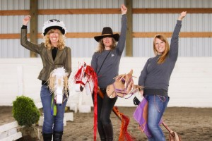 Outlaw Olympics, stick horse race