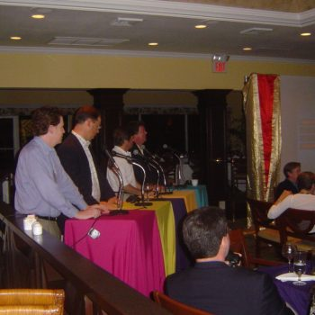 game show with guests