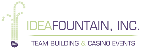Idea Fountain, Inc. Logo - Team Building & Casino Events