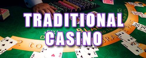 traditional table button, blackjack table